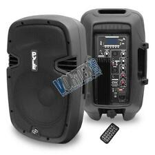 "New Pyle 10"" 700 W Powered Two-Way Speaker W/ MP3/USB/SD/Bluetooth PPHP1037UB"