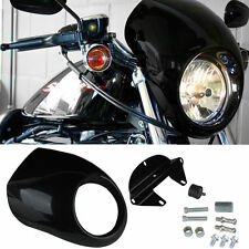 Sportster Fairing Harley Dyna Head Light Mask FX XL 883 Front Cowl Fork FXD NR