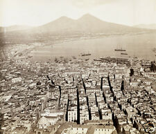 Napoli Naples Italy Achille Mauri 1870, 6x5 inches photo - Reprint