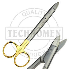 "6"" 15cm TC TUNGSTEN CARBIDE BEEBEE CROWN GUM WIRE CUTTING DENTAL SCISSORS SHEARS"