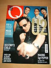 Q Magazine 170 Nov 2000 features U2, Muse and Beatles