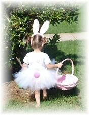 Baby - Girls Custom Easter Bunny Hat Ears Parade Tutu