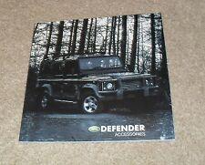 Land Rover Defender Accessories Brochure 2003