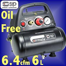 SIP 05295 AIRMATE Hurricane 6 1.5hp 6 Litre AIR COMPRESSOR