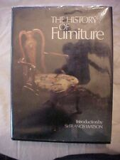 1976 Book THE HISTORY OF FURNITURE intro by Sir Francis Watson