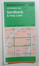 1982 OS Ordnance Survey Pathfinder 1:25000 map 389 Sandbank & Holy Loch NS 08/18