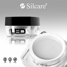 LED Gel High Light Clear 30g UV Gel Nails Medium Thick Builder File Off Silcare