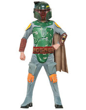 "Star Wars Kids Boba Fett Costume, Style 2, Large, Age 8 - 10, HEIGHT 4' 8"" - 5'"