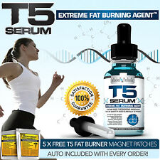 T5 FAT BURNERS SERUM XT-STRONGEST LEGAL SLIMMING / DIET / WEIGHT LOSS PILLS