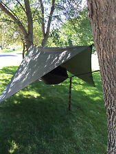 Ultralight Hanging Tent Hammock with Bed Net Sleeping Tent Camping Bed  (GREEN)