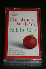 Hallmark - Christmas With You NEW Cassette Natalie Cole & Nat King Cole 1998 OOP