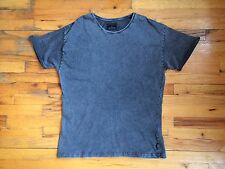 Afends 100% Cotton Charcoal Gray T-Shirt Tee Super Soft Slim Fit Sz XL PERFECT