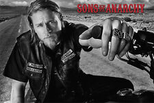 SONS OF ANARCHY TV POSTER (61x91cm) JACKSON MOTORBIKE NEW LICENSED