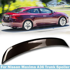 Painted #CAT For Nissan Maxima A36 8th 4DR OE-Type Rear Trunk Spoiler 2016-2017