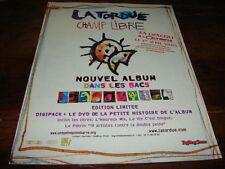 LA TORDUE - PUBLICITE CHAMP LIBRE - DANS LES BACS !!!!!