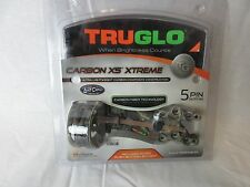 Truglo Carbon XS eXtreme 5 pin Mathews Lost camo Bow Sight Left/Right Hand