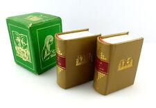 #e3160 2 Minibücher: Heinz Knobloch - Rund um das Buch Offizin Andersen Nexö