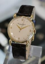 IWC --- Men's 18K Yellow Gold 1944 Vintage Dress Watch Caliber 60 Fancy Lugs
