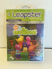 BRAND NEW LEAPSTER THE BACKYARDIGANS Learning Game