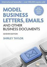 QUICK SHIP: Model Business Letters, Emails and Other Bus 7E by Shirley Taylor