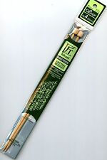 Clover Takumi Bamboo Premium Knitting Needles Single Point Size US 4 9-inch