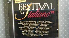 COMPILATION  - FESTIVAL ITALIANO '94 (FASANO CECCHETTI CASTAGNA...). 2 CD