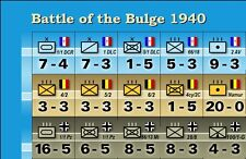 1940 Variant Counters for Avalon Hill's Battle of the Bulge Game - Die-Cut