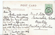 Genealogy Postcard - Family History - Filbey? - Brackley - Buckingham U3685