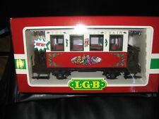 LGB #3607 Christmas Passenger Car with Lights with Sleeve