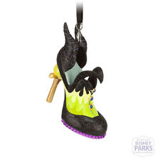 Disney Parks Authentic Maleficent Runway Shoe Ornament Christmas holiday