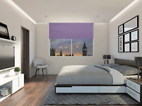 Made to Measure Blinds -  Lilac Blackout Roller Blind