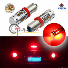 Red 10-CREE LED Bulbs For BMW 2012-2015 3 Series, 2014-up 4 Series Brake Lights