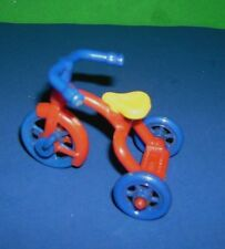 Renwal Tricycle Vintage toy #7 Miniature Dollhouse Furniture 1:16 Plastic 1950s