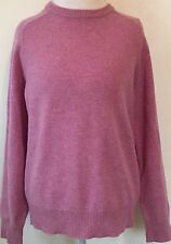 J. Crew 100% Lambs Wool Long Sleeve Crew Neck Sweater Size Medium
