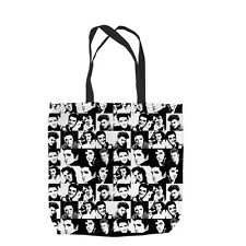 ELVIS ALL OVER DESIGN TOTE BAG SHOPPING BEACH SCHOOL ACCESSORY L&S PRINTS
