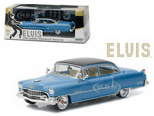 ELVIS PRESLEY 1955 CADILLAC FLEETWOOD SERIES 60 BLUE 1/43 BY GREENLIGHT 86493