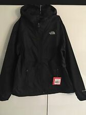 The North Face Mens Black Boreal Full Zip Rain Jacket Outerwear L New