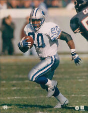 Barry Sanders ~ Det Lions ~ 8x10 Actual Photo ~ NOT A REPRINT - Free Top Loader