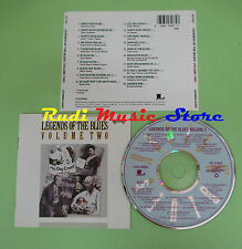 CD LEGENDS BLUES VOLUME TWO compilation 1991 CURTIS JONES CURLY WEAVER (C29)