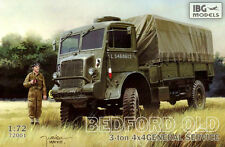 BEDFORD QLD GENERAL SERVICE (BRITISH RAF & POLISH ARMY MARKINGS) 1/72 IBG