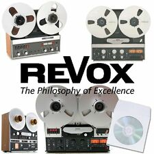 REVOX B77 A77 PR99 A700 REEL TO REEL TAPE RECORDER USER / SERVICE MANUALS on CD