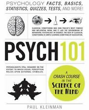 Adams 101: Psych 101 : Psychology Facts, Basics, Statistics, Tests, and More! by
