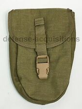 NEW Allied Industries Entrenching Etool Pouch E Tool MJK Khaki Tan Buckle