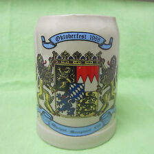 Oktoberfest 1988, Whirlpool Management Club, West Germany beer mug/stein