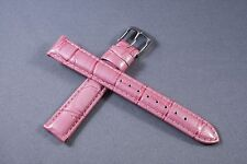 16mm woman ladies Genuine Leather watch Band Strap Interchangeable Baby Lupah