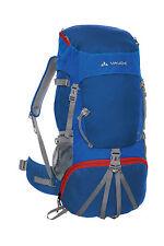 Vaude Jugend Trekking Rucksack Hidalgo 42 + 8 Liter Volumen in blau, Jugendlager
