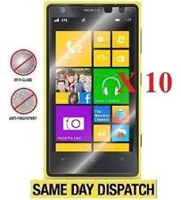 10 X Nokia lumia 1020 Anti-Glare Matte Screen Protectors Film Cover Saver& Cloth