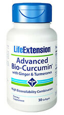 Advanced Bio-Curcumin with Ginger & Turmerones - Life Extension - 30 Softgels