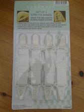 4 x bandas Stretch camas hoja de los titulares de agarre cubierta de tabla de planchar compre 2 lleve 1 Gratis