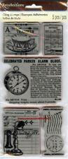 Rubber Cling Stamps VINTAGE ADS Old Fashioned Heritage Nostalgia